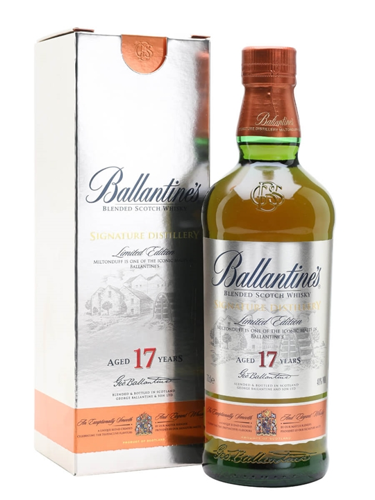 Ballantines 17 Year Old Signature Distillery - Miltonduff Blended Whisky