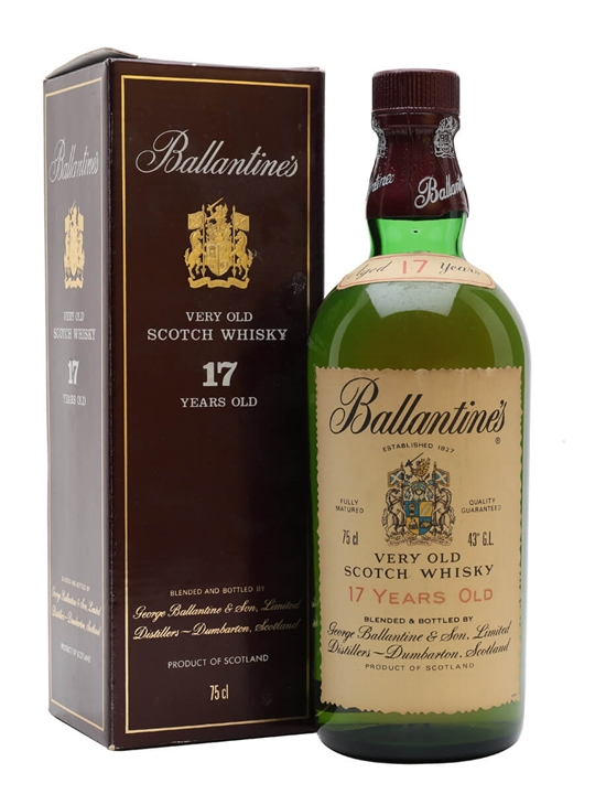 Ballantines 17 Year Old / Bot.1980s Blended Scotch Whisky