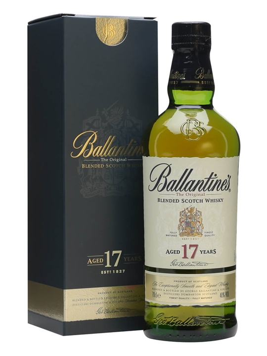 Ballantines 17 Year Old Blended Scotch Whisky