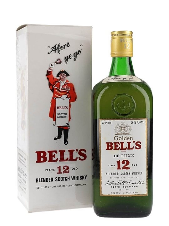 Bell's 12 Year Old / Bot.1970s Blended Scotch Whisky
