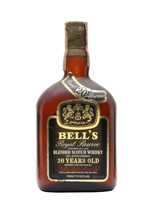 Bell's Royal Reserve 20 Year Old / Bot.1973 Blended Scotch Whisky