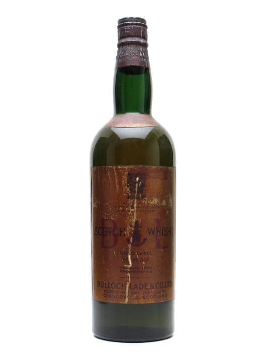 BL Scotch Whisky / Bot.1960s / Spring Cap Blended Scotch Whisky