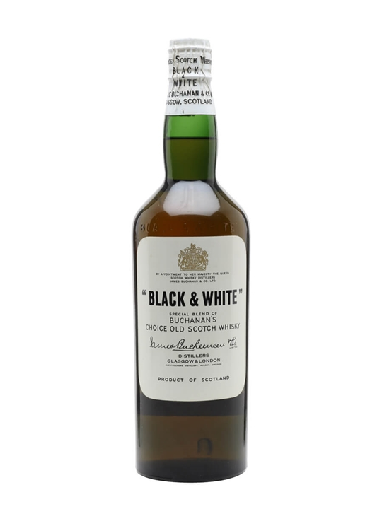 Black & White  Bot.1960s Blended Scotch Whisky