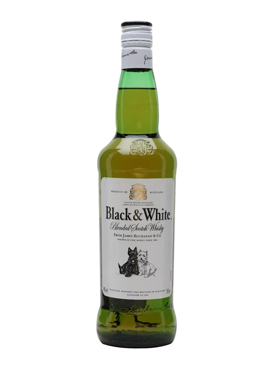 Black & White Blended Scotch Whisky