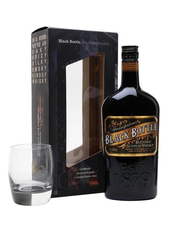 Black Bottle / Glass Pack Blended Scotch Whisky
