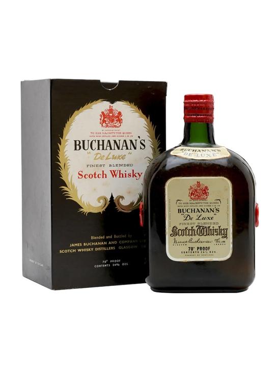 Buchanan's Deluxe / Bot.1950s Blended Scotch Whisky
