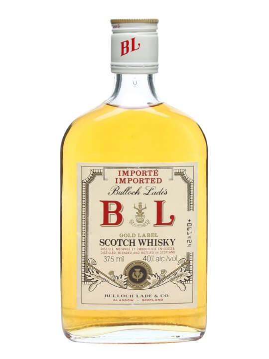 Bulloch Lade Gold Label / Bot.1980s / Half Bottle Blended Whisky