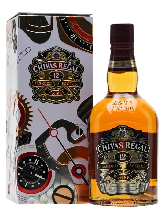Chivas Regal 12 Year Old / Gift Tin Blended Scotch Whisky
