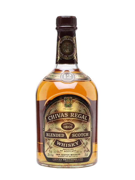 Chivas Regal 12 Year Old / Bot.1980s Blended Scotch Whisky