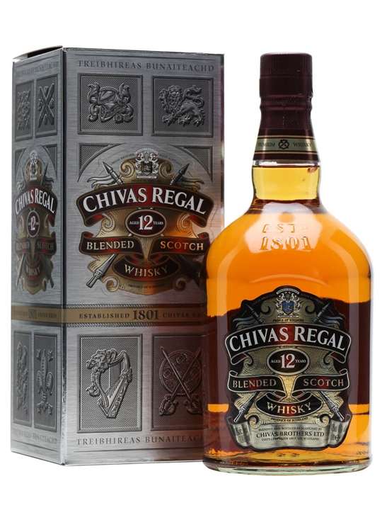 Chivas Regal 12 Year Old / Litre Blended Scotch Whisky
