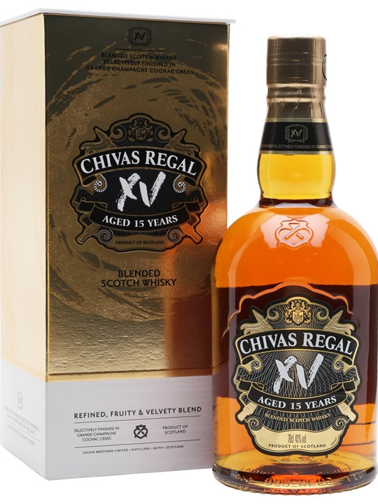 Chivas Regal 15 Year Old XV Blended Scotch Whisky