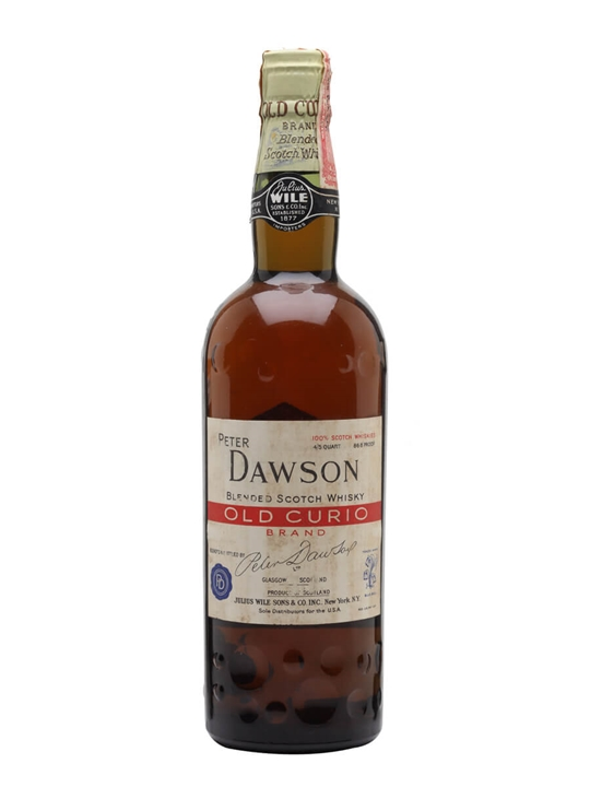 Dawson's Old Curio / Bot.1950s / Spring Cap Blended Scotch Whisky