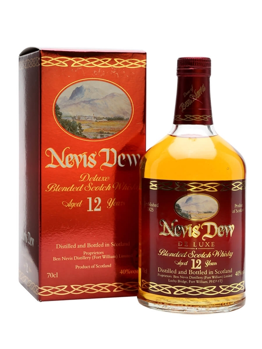 Dew Of Ben Nevis 12 Year Old Blended Scotch Whisky