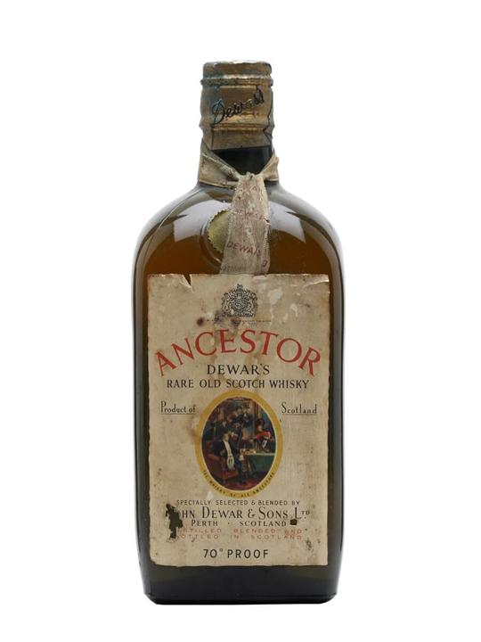 Dewar's Ancestor / Bot.1950s / Spring Cap Blended Scotch Whisky