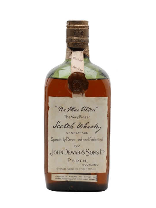 Ne Plus Ultra (Dewar's) / Bot.1940s / Spring Cap Blended Scotch Whisky