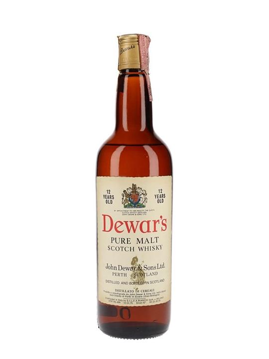 Dewar's 12 Year Old / Bot.1970s Blended Scotch Whisky
