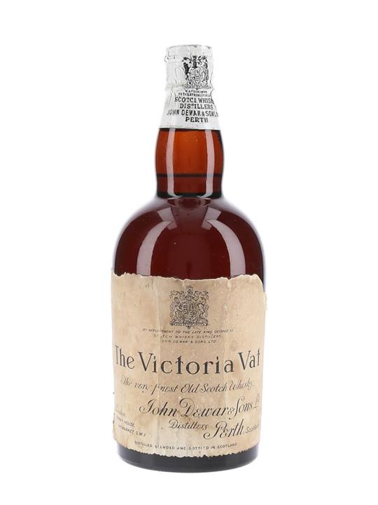 Dewar's Victoria Vat / Bot.1950s / Spring Cap Blended Scotch Whisky