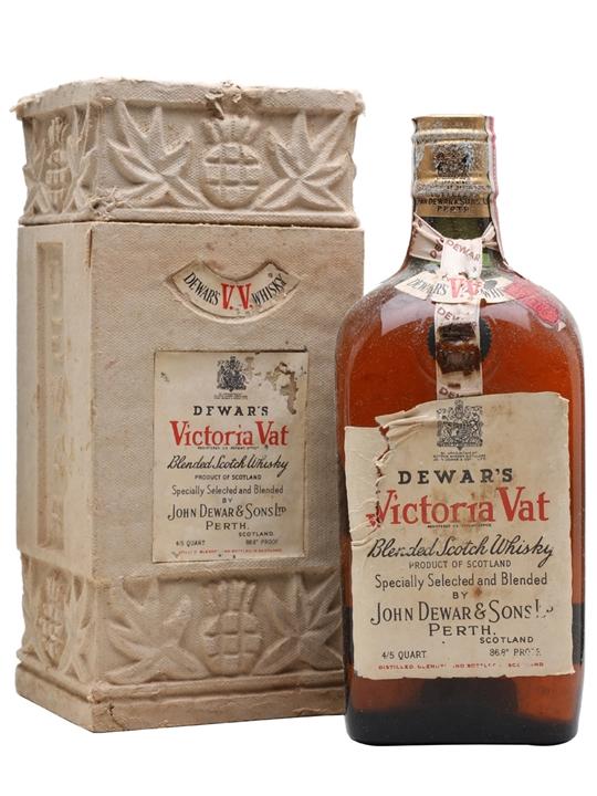 Dewar's Victoria Vat / Bot.1940s / Spring Cap Blended Scotch Whisky