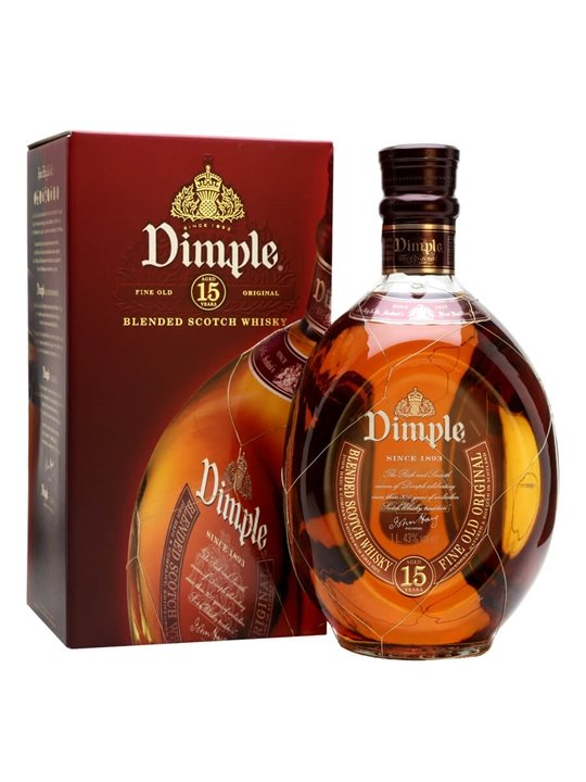 Dimple 15 Year Old / Litre Blended Scotch Whisky