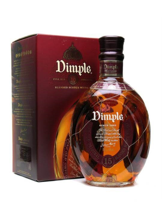 a grain of wheat_Dimple 15 Year Old : The Whisky Exchange