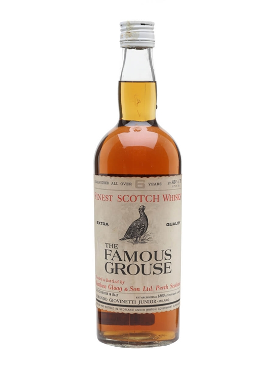 Famous Grouse 6 Year Old / Bot.1960s Blended Scotch Whisky