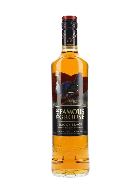 Famous Grouse Smoky Black Blended Scotch Whisky