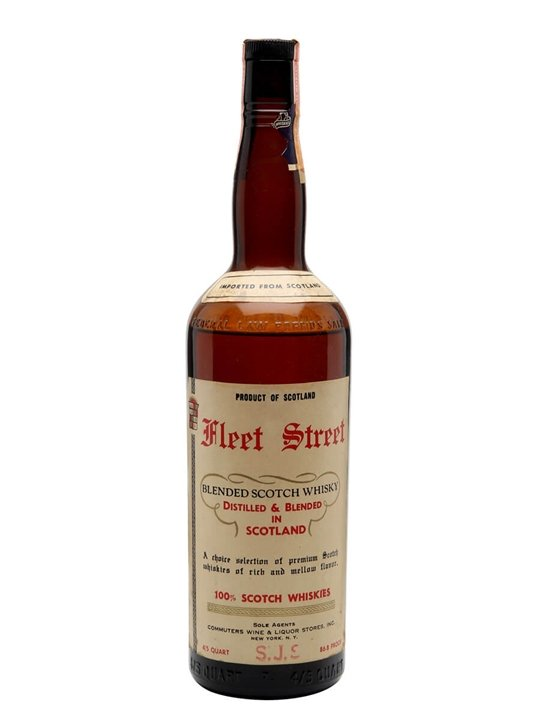Fleet Street / Bot.1950s Blended Scotch Whisky