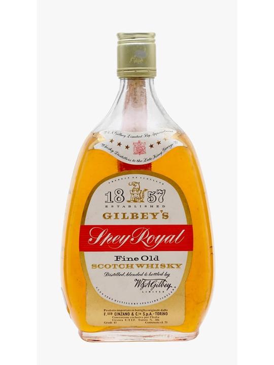 Gilbey's Spey Royal / Bot.1960s Blended Scotch Whisky