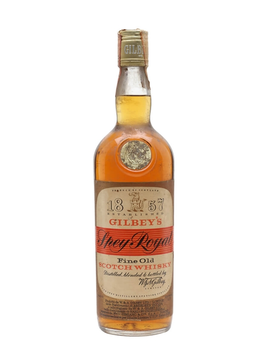 Gilbey's Spey Royal / Bot.1970s Blended Scotch Whisky