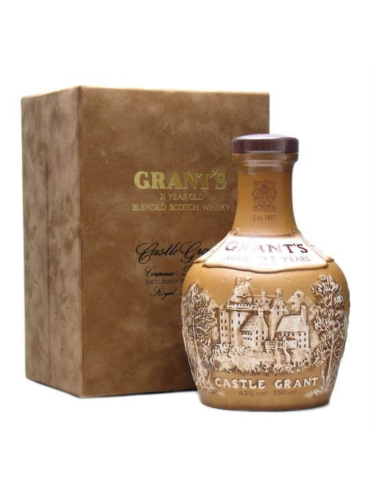 Grant's Castle Grant / 21 Year Old / Bot.1980s Blended Scotch Whisky