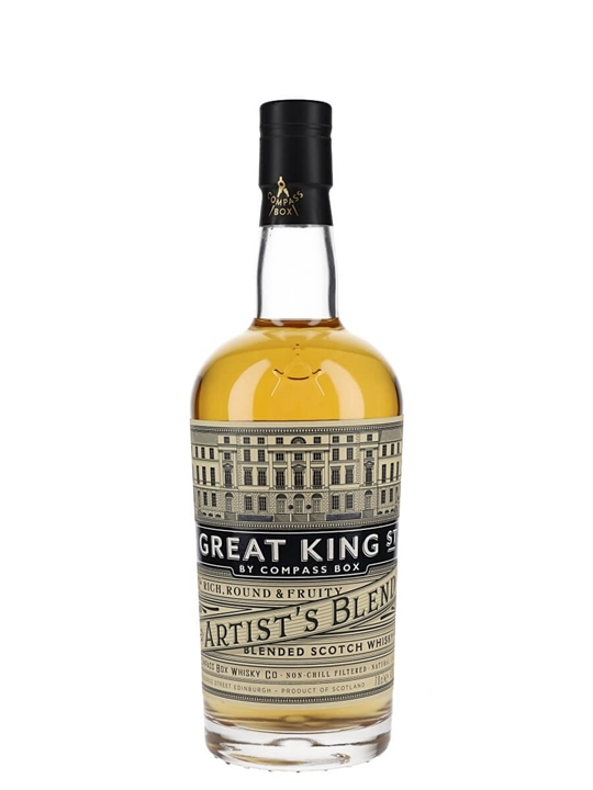 Compass Box Great King Street / Artist's Blend Blended Scotch Whisky