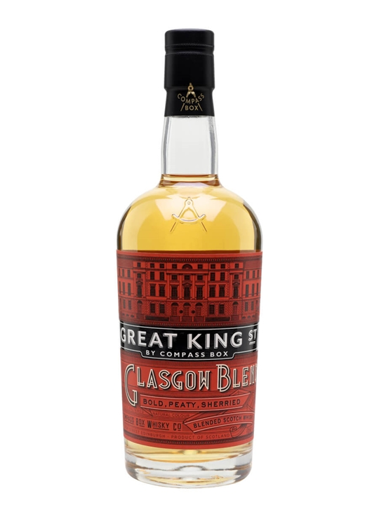 Compass Box Great King Street / Glasgow Blend Blended Scotch Whisky