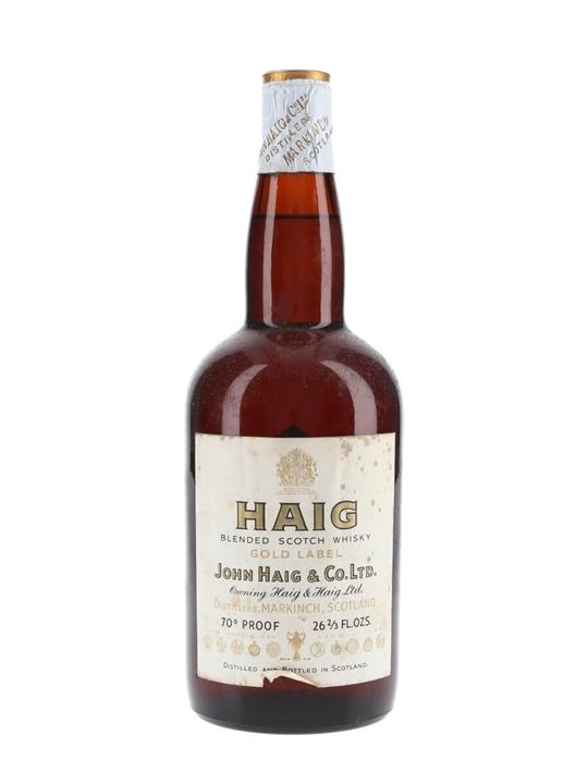 Haig Gold Label / Bot.1950s / Spring Cap Blended Scotch Whisky