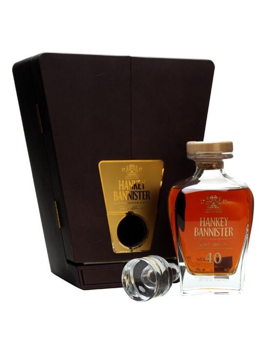 Hankey Bannister 40 Year Old / Bot.2013 Blended Scotch Whisky