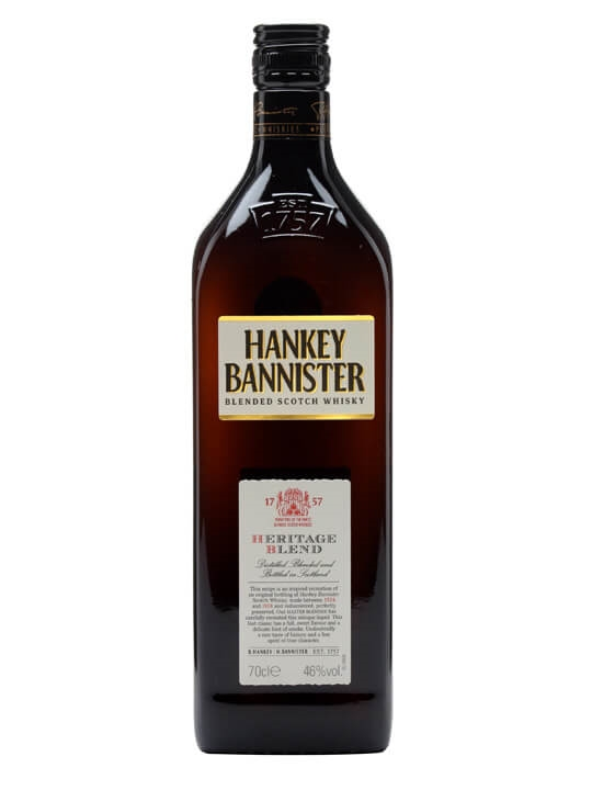 Hankey Bannister Heritage Blend Blended Scotch Whisky