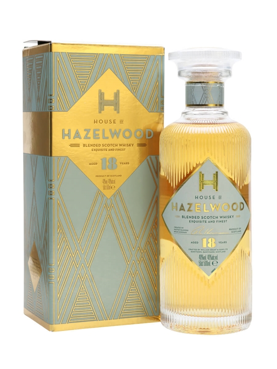 House of Hazelwood 18 Year Old Blended Scotch Whisky