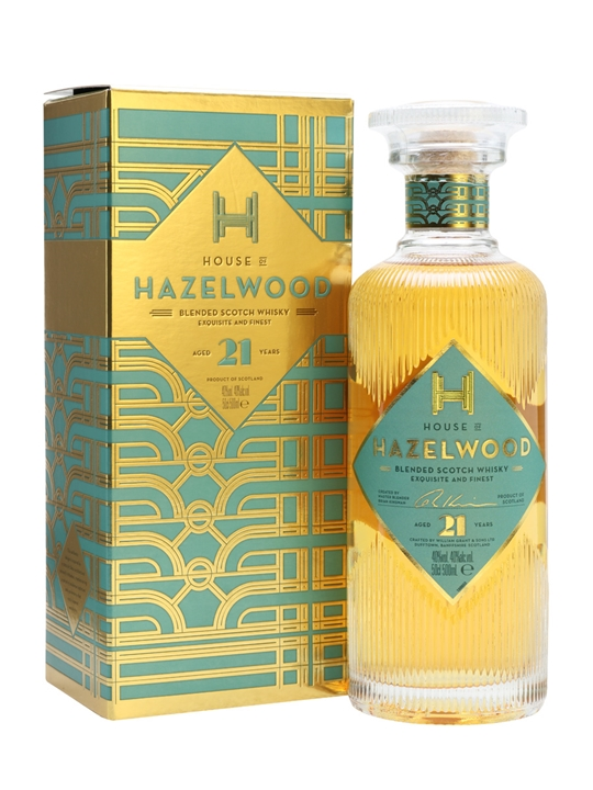 House of Hazelwood 21 Year Old Blended Scotch Whisky