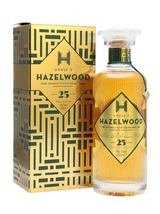 House of Hazelwood 25 Year Old Blended Scotch Whisky