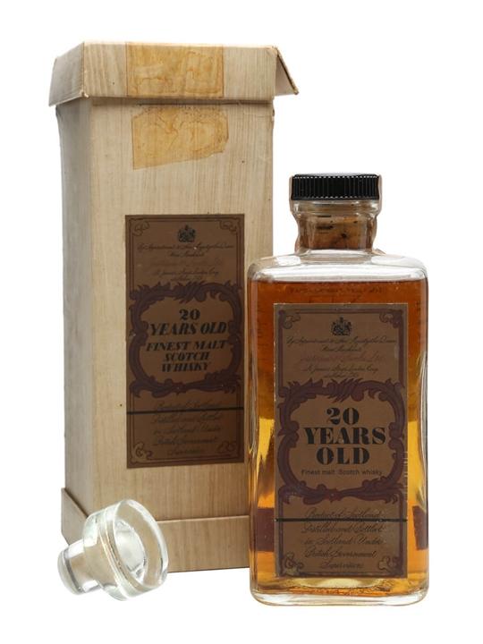 J & B 20 Year Old / Bot.1960s Blended Scotch Whisky