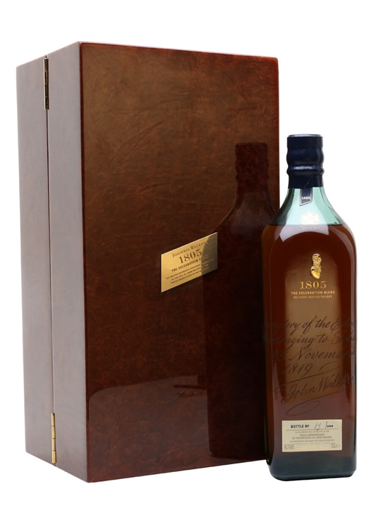 Johnnie Walker Blue Label 1805 Celebration Blend Blended Scotch Whisky