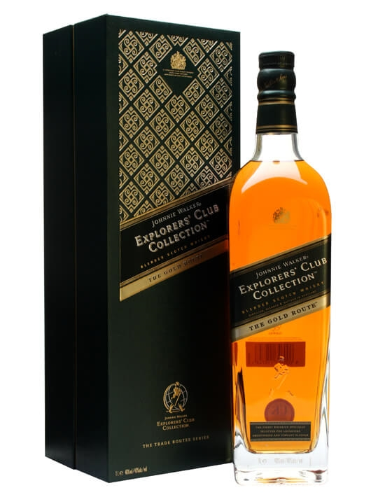 Johnnie Walker Gold Route / Explorer's Club Collection Blended Whisky
