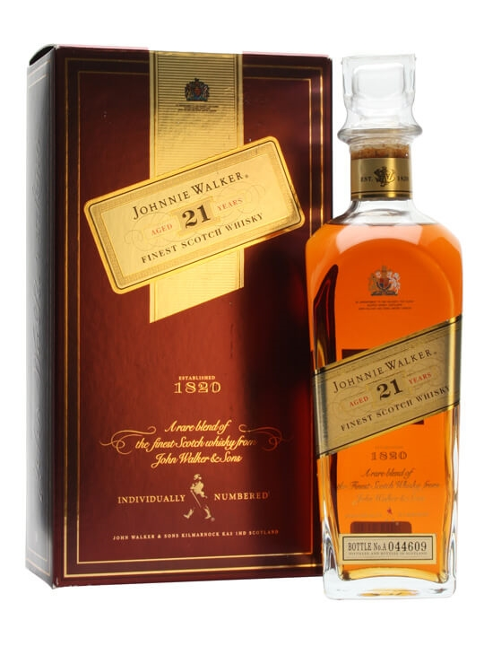 Johnnie Walker 21 Year Old Blended Scotch Whisky