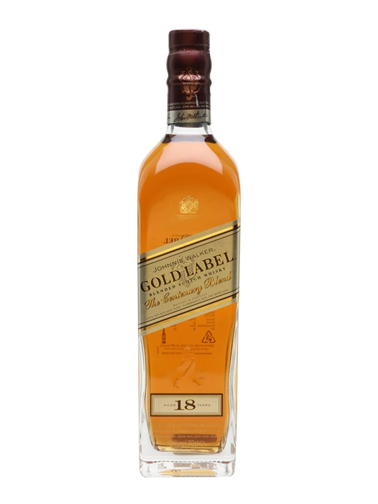 Johnnie Walker Gold Label 18 Year Old Blended Scotch Whisky