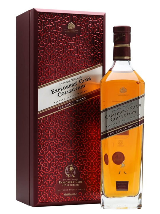 Johnnie Walker The Royal Route / Explorer's Club Collection Blended Whisky