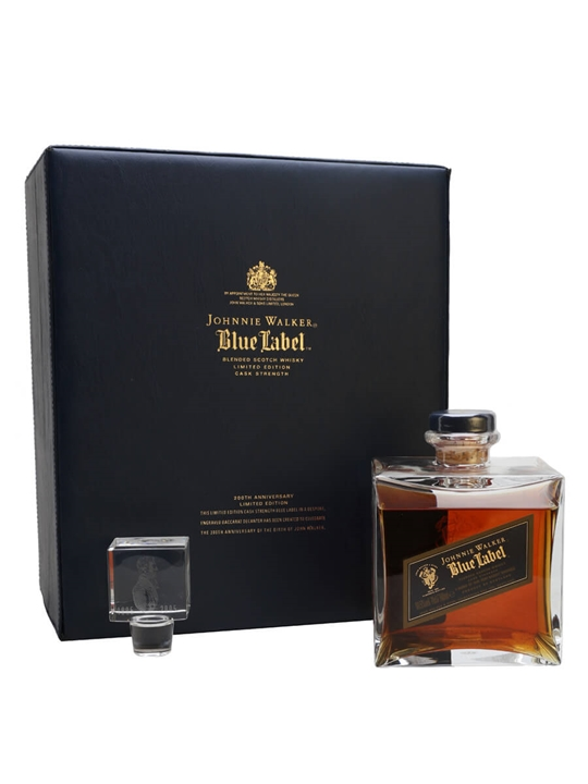 Johnnie Walker Blue Label Anniversary Blended Scotch Whisky