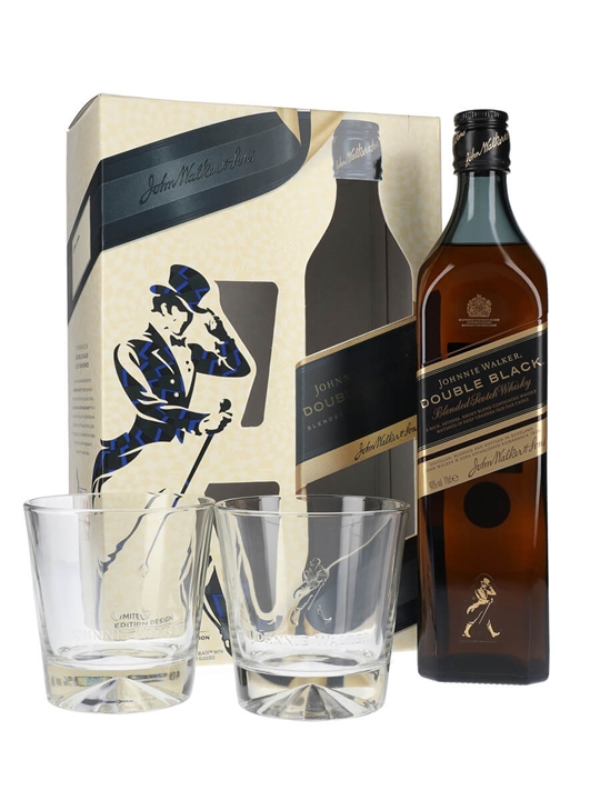 Johnnie Walker Double Black / Glass Pack Blended Scotch Whisky