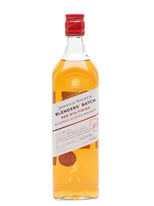 Johnnie Walker Blenders Batch Red Rye Finish Blended Scotch Whisky