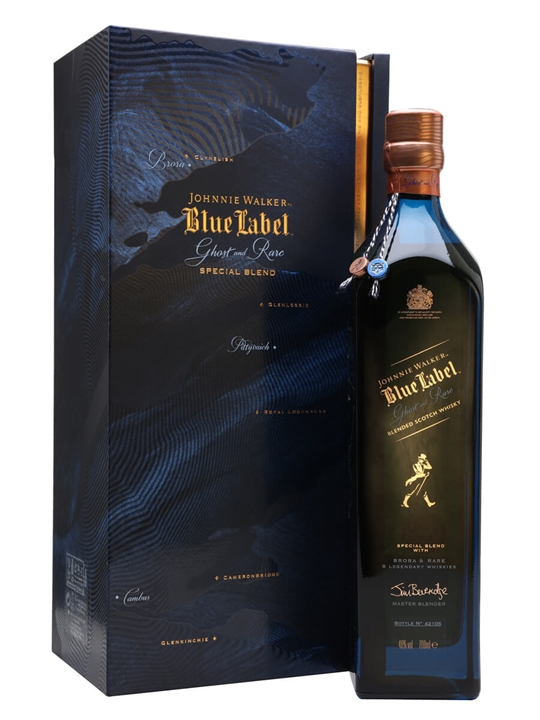 Johnnie Walker Blue Label Brora And Rare / Ghost And Rare Blended Whisky