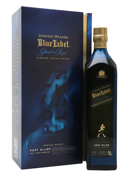 Johnnie Walker Blue Label Ghost And Rare / Port Ellen Blended Whisky
