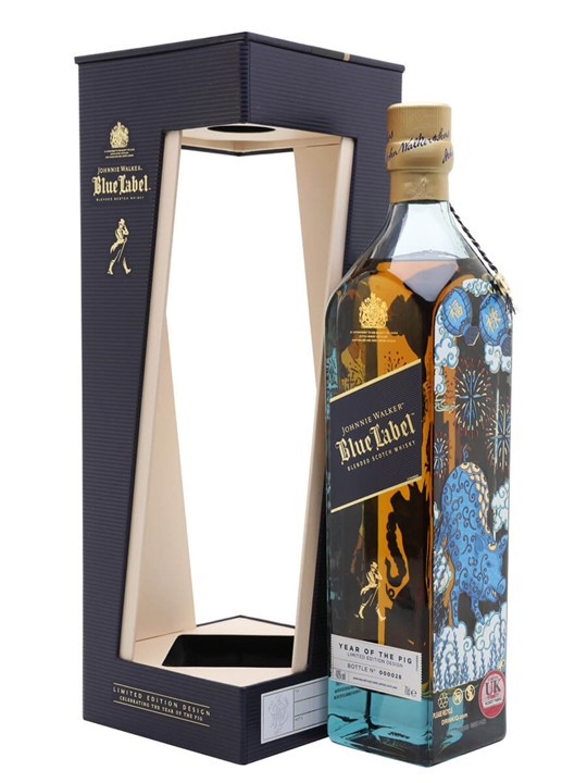 Johnnie Walker Blue Year of the Pig Blended Scotch Whisky